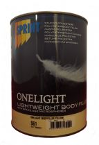 Lightweight Body Filler Yellow 3L